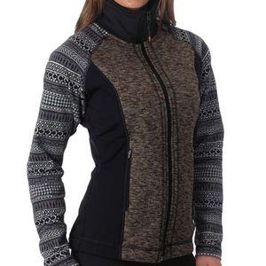 Kerrits Bit of Horse Equestrian Sweater Jacket Med